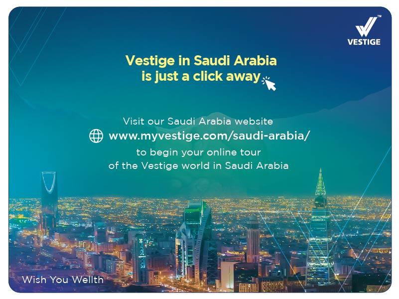 Vestige Saudi, Vestige KSA, Saudi Arabia Vestige Team